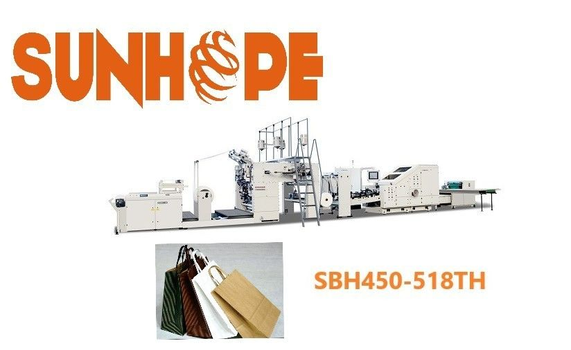 120 bags min 762mm Cutting Automatic Paper Bag Bottom Pasting Machine
